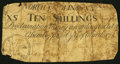 Colonial Notes:North Carolina, North Carolina March 9, 1754 10s Very Good.. ...