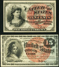 Fr. 1257 10¢ Fourth Issue Very Choice New, and a Fr. 1269 15¢ Fourth Issue Very Fine