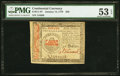 Continental Currency January 14, 1779 $50 PMG About Uncirculated 53 EPQ