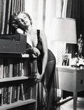 Photographs, Philippe Halsman (American, 1906-1979). Marilyn Listening to Music, 1952. Gelatin silver, 1981. 12-7/8 x 9-7/8 inches (3...