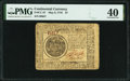 Continental Currency May 9, 1776 $7 PMG Extremely Fine 40