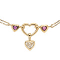 Estate Jewelry:Necklaces, Diamond, Ruby, Gold Necklace . ...