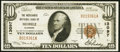 Mobile, AL - $10 1929 Ty. 1 Merchants National Bank Ch. # 13097 Very Fine-Extremely Fine