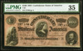 Confederate Notes:1864 Issues, T65 $100 1864 PF-1 Cr. 490 PMG Choice Very Fine 35.. ...