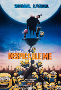"""Despicable Me (Universal, 2010). Rolled, Very Fine+. One Sheet (27"""" X 40"""") DS Advance. Animation"""