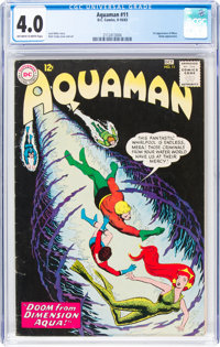 Aquaman #11 (DC, 1963) CGC VG 4.0 Off-white to white pages