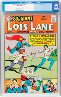 80 Page Giant #14 Lois Lane (DC, 1965) CGC NM- 9.2 Off-white to white pages