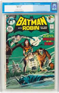 Batman #235 (DC, 1971) CGC NM 9.4 Off-white to white pages