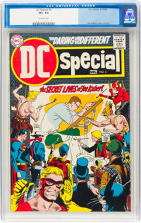 DC Special #5 Joe Kubert (DC, 1969) CGC VF+ 8.5 Off-white pages