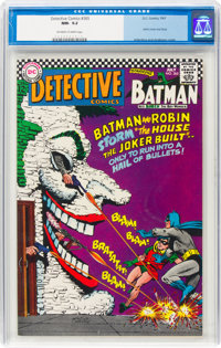 Detective Comics #365 (DC, 1967) CGC NM- 9.2 Off-white to white pages
