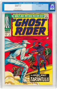 The Ghost Rider #2 (Marvel, 1967) CGC NM/MT 9.8 Off-white to white pages