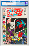 Bronze Age (1970-1979):Superhero, Justice League of America #80 (DC, 1970) CGC NM+ 9.6 Off-white pages....