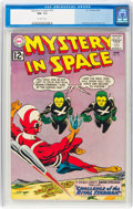 Silver Age (1956-1969):Science Fiction, Mystery in Space #76 (DC, 1962) CGC NM- 9.2 Off-white pages....