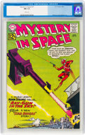 Silver Age (1956-1969):Science Fiction, Mystery in Space #77 (DC, 1962) CGC NM 9.4 White pages....