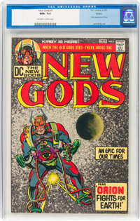 The New Gods #1 Boston Pedigree (DC, 1971) CGC NM+ 9.6 Off-white to white pages