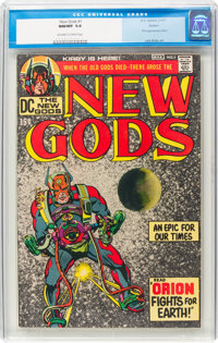 The New Gods #1 Boston Pedigree (DC, 1971) CGC NM/MT 9.8 Off-white to white pages