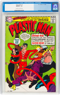 Plastic Man #1 (DC, 1966) CGC NM/MT 9.8 Off-white to white pages