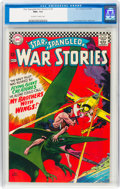 Star Spangled War Stories #129 (DC, 1966) CGC NM+ 9.6 Off-white to white pages
