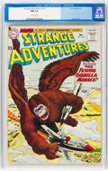Silver Age (1956-1969):Science Fiction, Strange Adventures #125 (DC, 1961) CGC NM 9.4 Off-white pages....