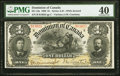 Canada Dominion of Canada $1 31.3.1898 DC-13a PMG Extremely Fine 40