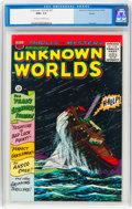 Silver Age (1956-1969):Horror, Unknown Worlds #47 Boston Pedigree (ACG, 1966) CGC NM+ 9.6 Off-white to white pages....