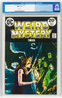 Weird Mystery Tales #8 (DC, 1973) CGC NM+ 9.6 White pages