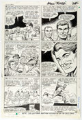 Original Comic Art:Panel Pages, Dick Ayers and John Tartaglione Sgt. Fury #32 Story Page 20 Original Art (Marvel, 1966)...