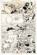 Original Comic Art, Gil Kane and Mike Esposito Amazing Spider-man Annual #10 Story Page 38 Original Art (Marvel, 1976)...