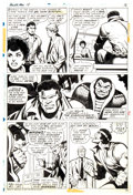 Original Comic Art:Panel Pages, George Tuska and Vince Colletta Power Man #18 Story Page 16 Original Art (Marvel, 1974)...