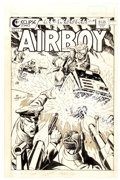 Original Comic Art:Covers, Ron Wagner Airboy #22 Cover Original Art (Eclipse, 1987)....