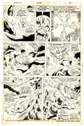 Original Comic Art:Panel Pages, Don Heck and Don Perlin Sub-Mariner #66 Story Page 15 Original Art (Marvel Comics, 1973). ...
