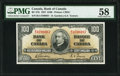 World Currency, Canada Bank of Canada $100 2.1.1937 BC-27b PMG Choice About Unc 58.. ...