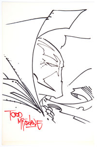 Todd McFarlane - Spawn Sketch Original Art (undated)