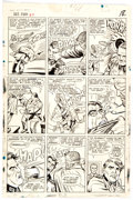 Original Comic Art:Panel Pages, Dick Ayers Sgt. Fury and His Howling Commandos #27 Story Page 14 Original Art (Marvel, 1966)....