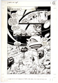 Original Comic Art:Panel Pages, Adam Kubert and Dan Green Weapon X #4 Story Page 10 Original Art (Marvel, 1995)....