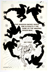 Jim Mooney Spider-Man Page 7 Illustration Original Art (Marvel, c. late-1970s to early-1980s)