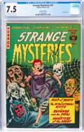 Golden Age (1938-1955):Horror, Strange Mysteries #10 (Superior Comics, 1953) CGC VF- 7.5 Off-white to white pages....