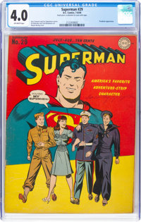 Superman #29 (DC, 1944) CGC VG 4.0 Off-white pages
