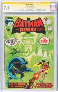 Batman #232 Signature Series: Neal Adams (DC, 1971) CGC VF- 7.5 Off-white to white pages