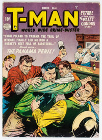 T-Man #4 (Quality, 1952) Condition: VG/FN