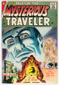 Silver Age (1956-1969):Horror, Tales of the Mysterious Traveler #3 (Charlton, 1957) Condition: VG/FN....