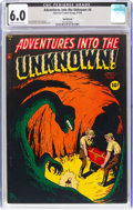 Golden Age (1938-1955):Horror, Adventures Into The Unknown #4 Northford Pedigree (ACG, 1949) CGC FN 6.0 Cream to off-white pages....
