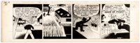 Chester Gould Dick Tracy Daily Comic Strip Original Art dated 12-13-45 (Chicago Tribune Syndicate, 1945)