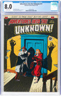 Adventures Into The Unknown #11 (ACG, 1950) CGC VF 8.0 Off-white pages