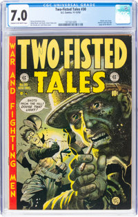 Two-Fisted Tales #30 (EC, 1952) CGC FN/VF 7.0 Cream to off-white pages