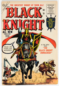 Black Knight #3 (Atlas, 1955) Condition: VG-