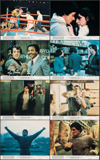"Rocky (United Artists, 1977). Near Mint. Mini Lobby Card Set of 8 (8"" X 10""). Academy Award Winners. ... (Tota..."