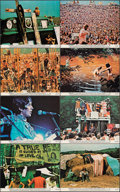 """Movie Posters:Rock and Roll, Woodstock (Warner Bros., 1970). Very Fine+. Mini Lobby Card Set of 8 (8"""" X 10""""). Rock and Roll.. ... (Total: 8 Items)"""