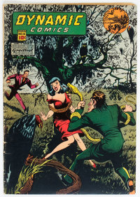 Dynamic Comics #16 (Chesler, 1945) Condition: VG+