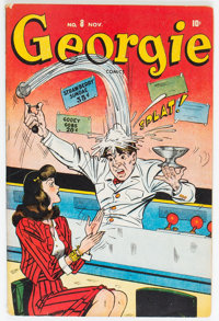 Georgie Comics #8 (Timely, 1946) Condition: FN-
